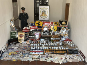 Investigazioni e sicurezza per aziende, professionisti e privati BIG SEIZURE OF 15.000 COUNTERFEIT PRODUCTS IN IMOLA